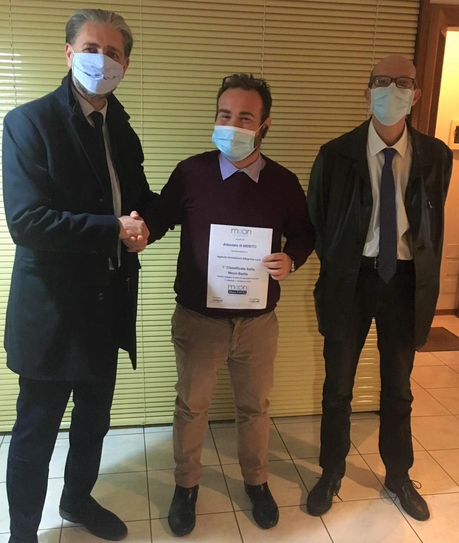 Consegna Premio-Allegrone Immobiliare